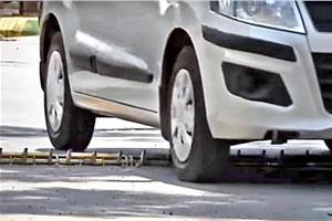Pune mall installs tyre killers to deter wrong-way driving