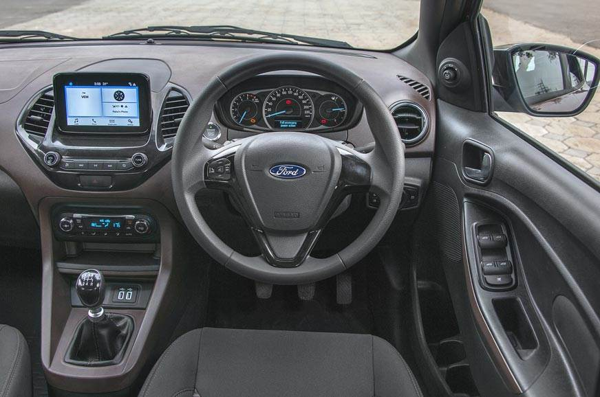 Dash from Figo but restyled to house touchscreen. Brown-o...
