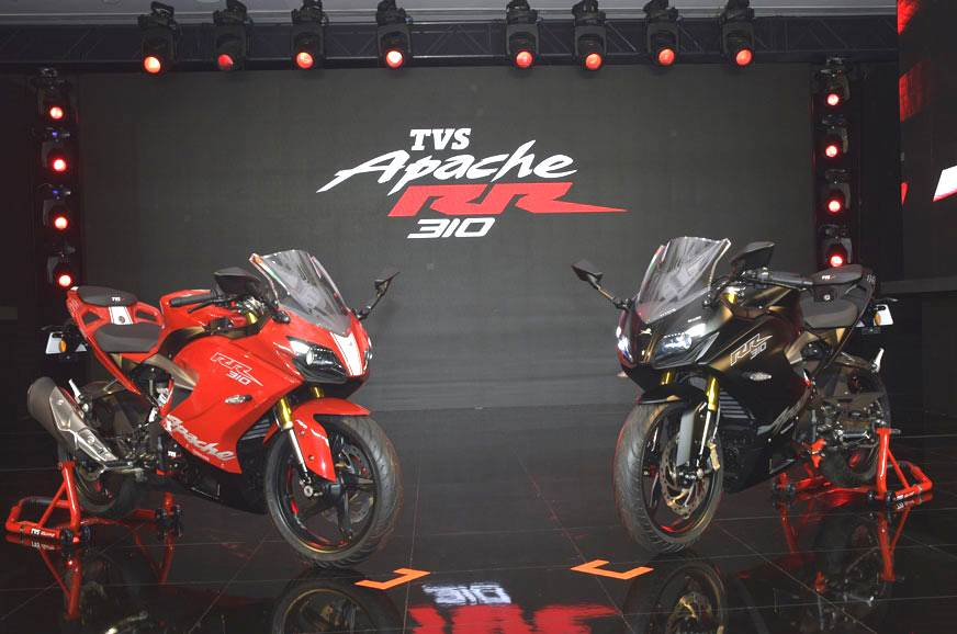 TVS Apache RR 310 price hiked by Rs 8,000