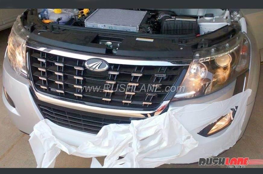 2018 Mahindra XUV500 facelift details revealed