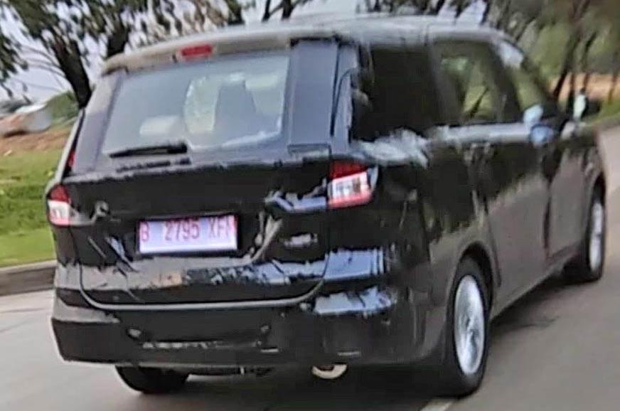 New Maruti Suzuki Ertiga spied again