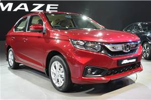 New Honda Amaze India launch next month