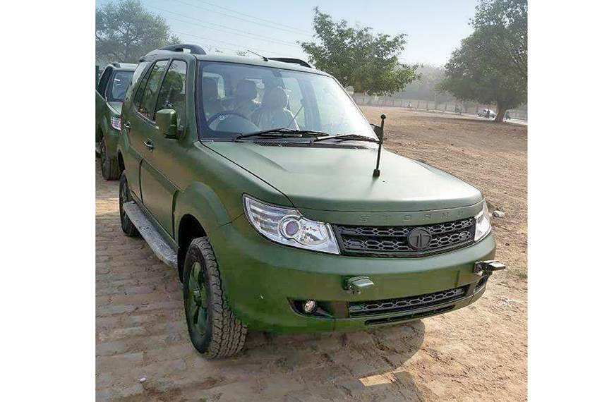 Indian Army-spec Tata Safari Storme deliveries commence