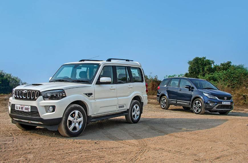 2018 Mahindra Scorpio vs Tata Hexa comparison