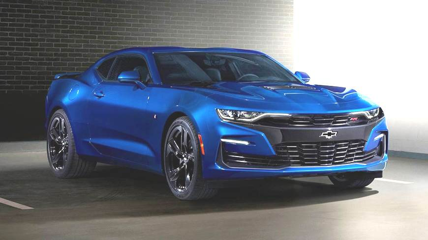 Chevrolet Camaro facelift revealed
