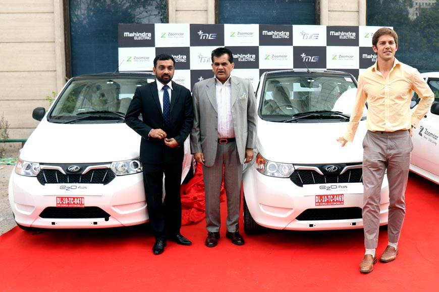 Mahindra e2o Plus now available with Zoomcar