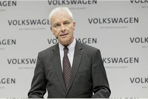VW Group may replace CEO Matthias Muller