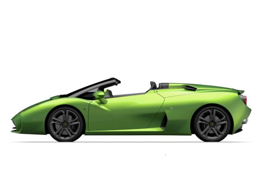 Zagato Lamborghini L595 previewed