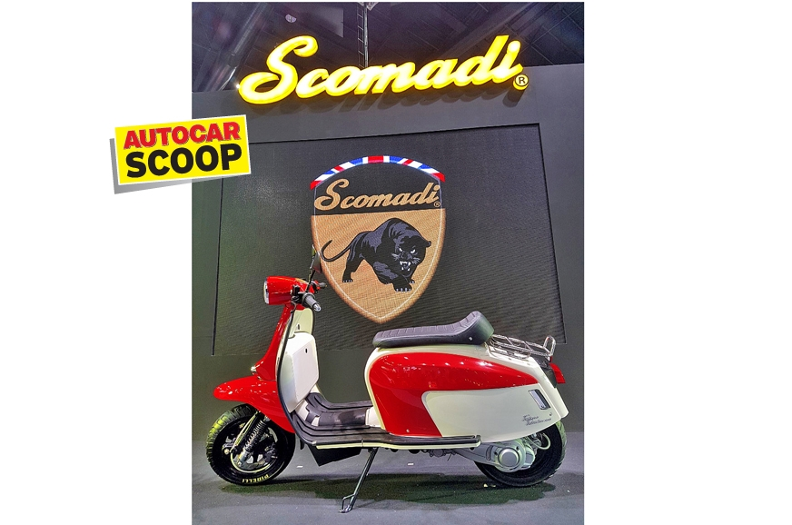 The scooter shown in the image above is the TT200 and the...