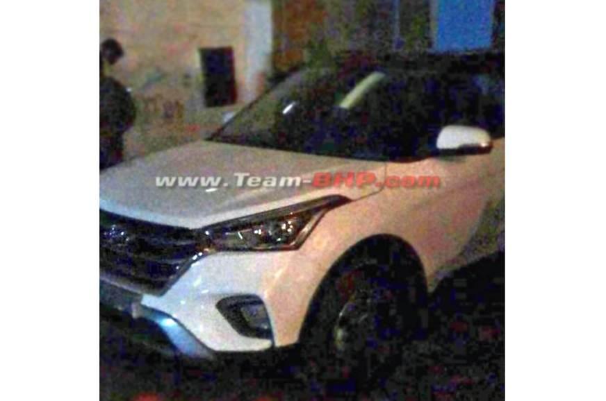 India-spec Hyundai Creta facelift leaked
