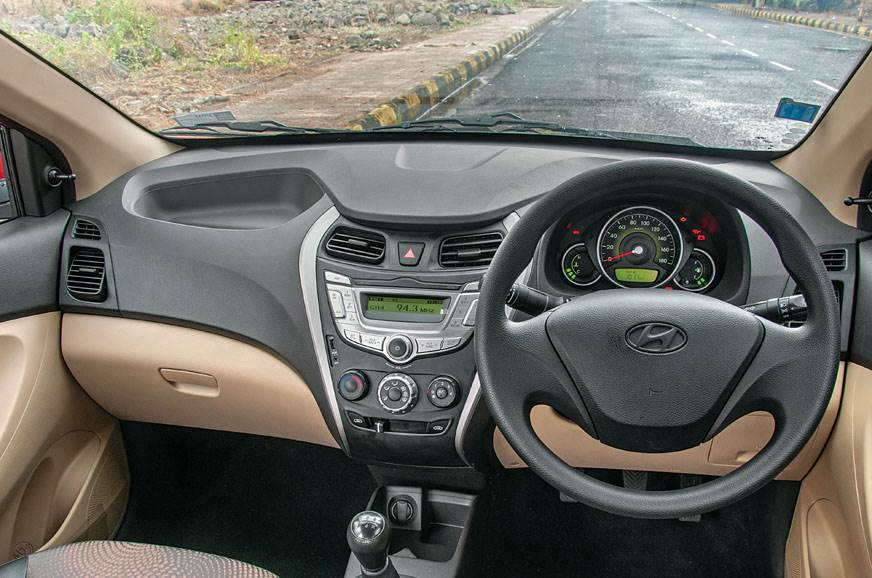 Interior is basic. You get a decent list of features on E...