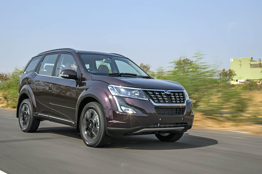 New headlamp elements and front grill lend the XUV500 a m...