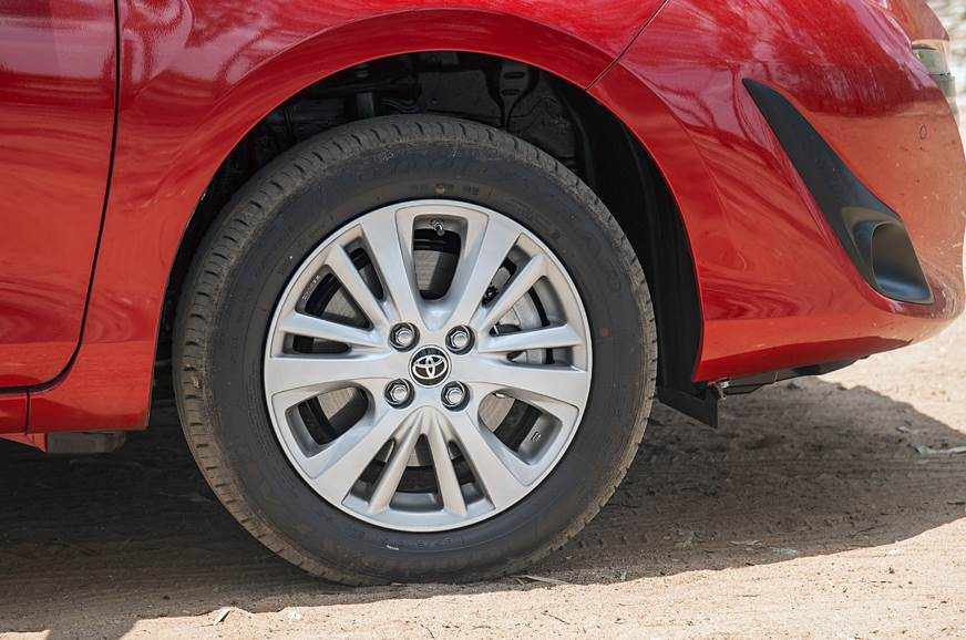 All four wheels get disc brakes on the V and VX versions.