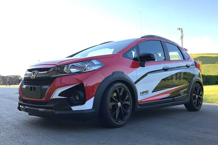 Honda makes one-off WR-V turbo