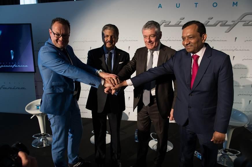 [L-R]Michael Perschke, CEO, Automobili Pininfarina,  Anan...