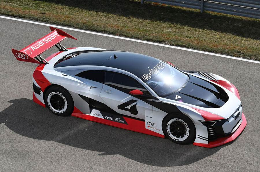 New Audi e-tron Vision Gran Turismo revealed