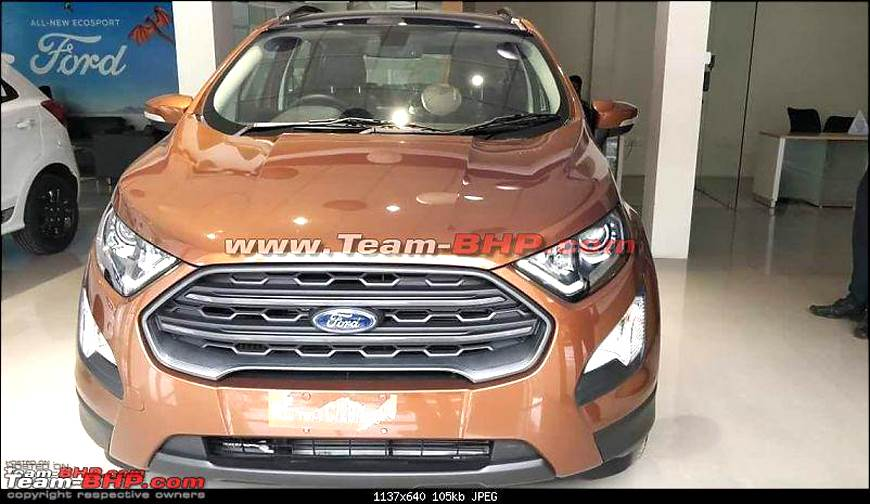 Ford EcoSport Titanium S to launch next month