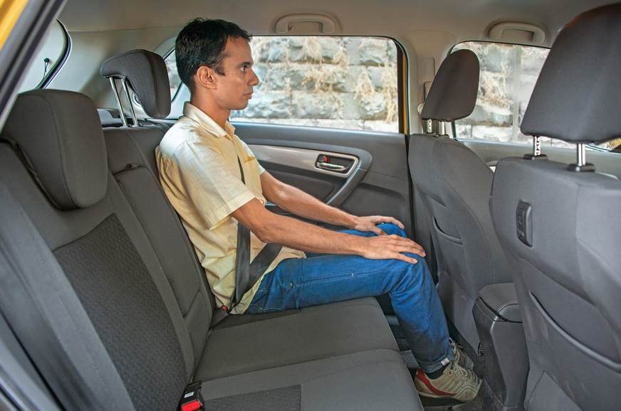 BACK SEAT: For a sub-four-metre footprint, Brezza offers ...
