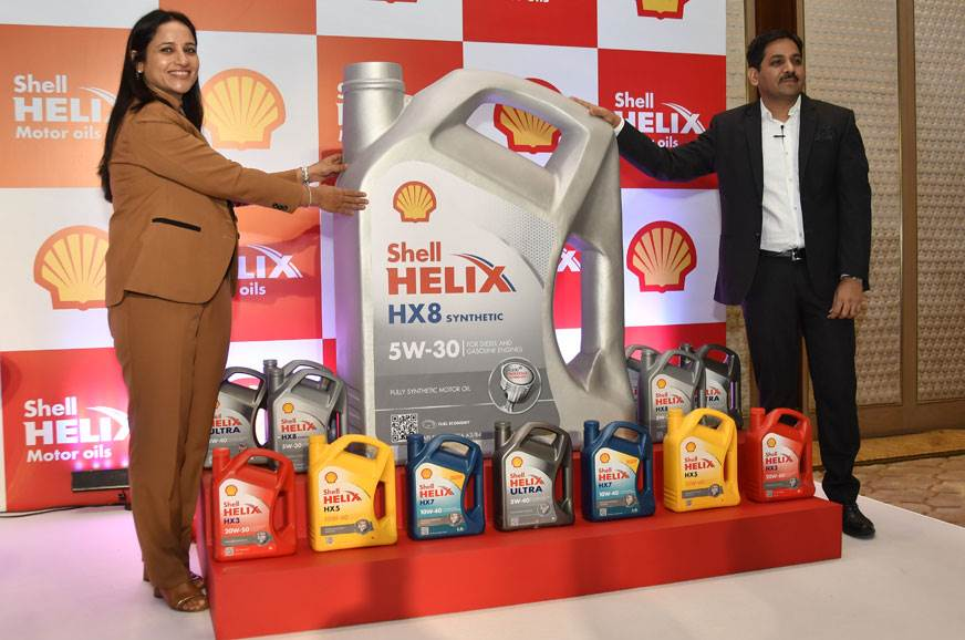 Shell launches Helix HX8 engine oil