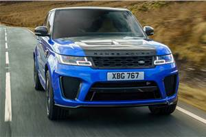 2018 Range Rover Sport SVR facelift review, test drive