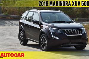2018 Mahindra XUV500 facelift video review