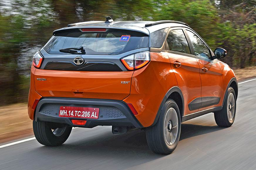 2018 tata nexon amt compact suv review test drive autocar india. Black Bedroom Furniture Sets. Home Design Ideas