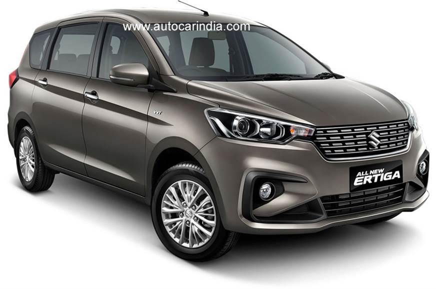 New Suzuki Ertiga front.