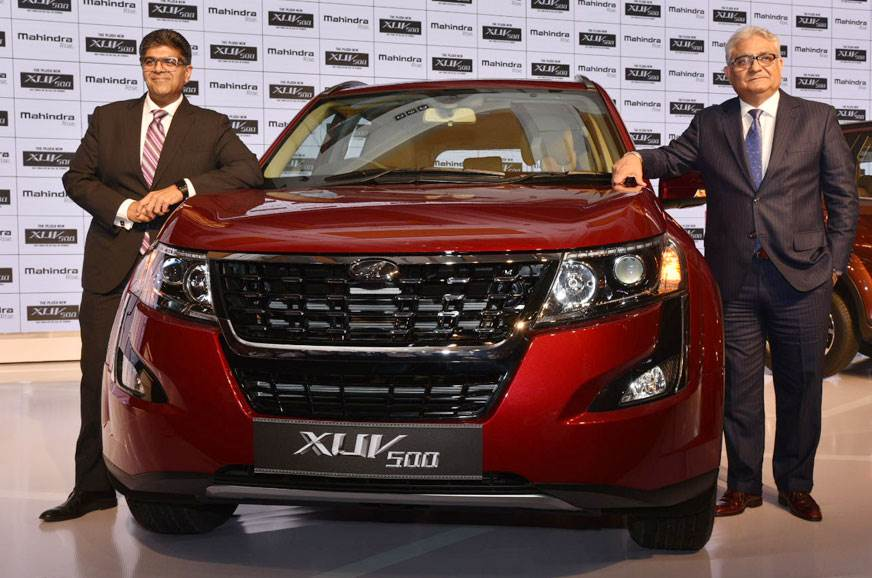 2018 Mahindra XUV500 facelift launched at Rs 12.32 lakh
