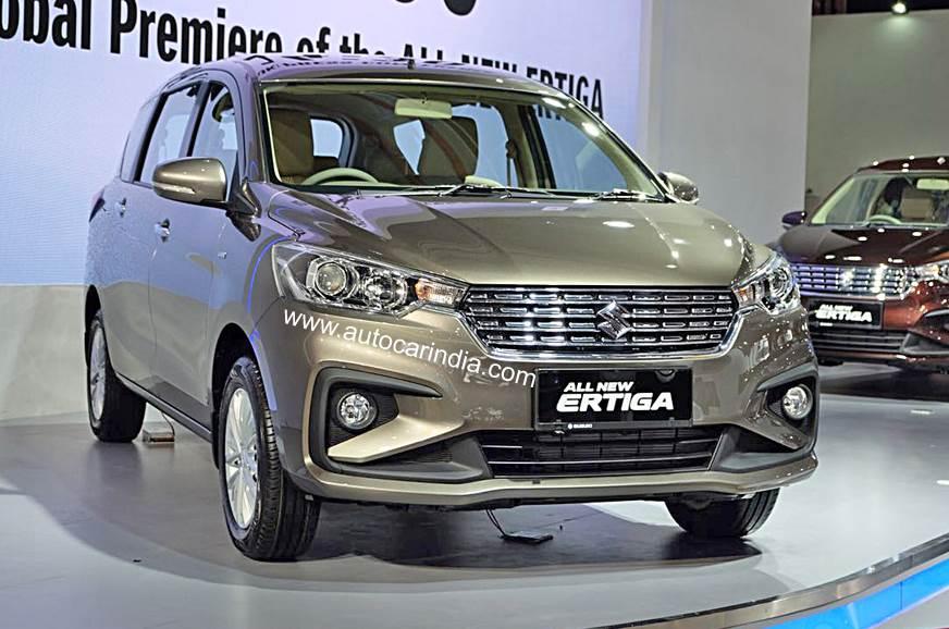 India Bound Maruti Suzuki Ertiga Mpv Revealed Autocar India