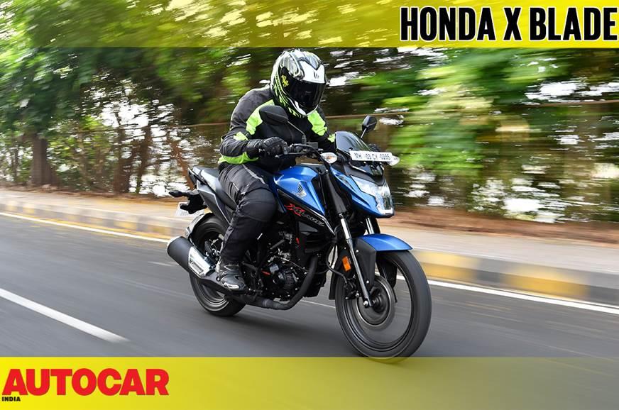 2018 Honda X Blade video review