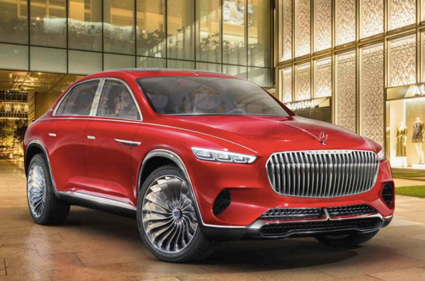 Mercedes-Maybach concept SUV images leaked