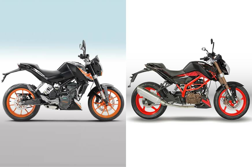 UM's latest motorcycle is an obvious copy of the KTM 200 Duke