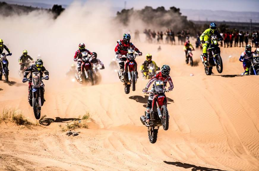2018 Merzouga Rally – TVS scores top 10 finish