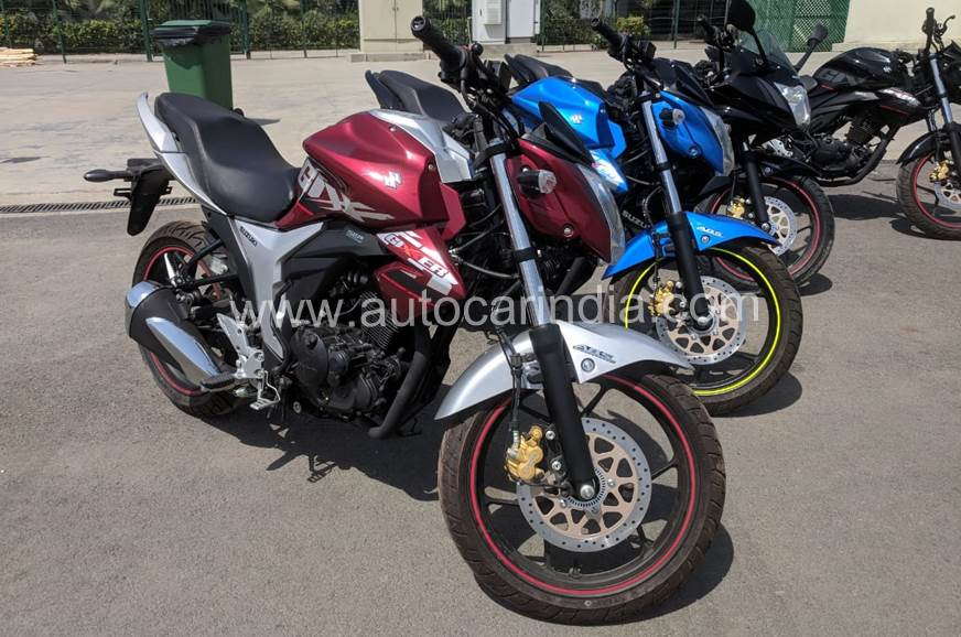 2018 Suzuki Gixxer ABS spotted; launch imminent