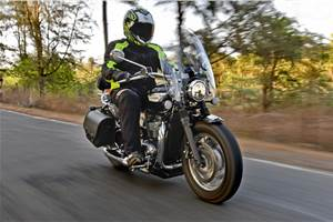 2018 Triumph Speedmaster India review, test ride