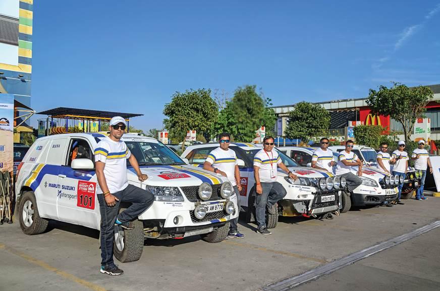 Maruti Suzuki Motorsport fielded four teams at this year'...