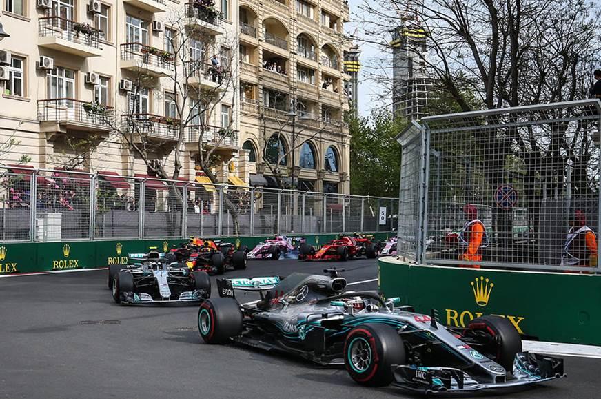 2018 Azerbaijan GP – Hamilton claims lucky win