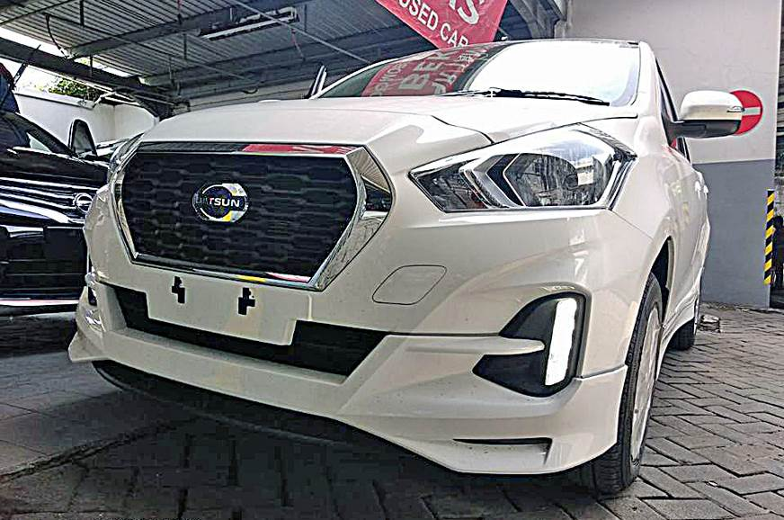 2018 Datsun Go facelift with CVT spied - Autocar India