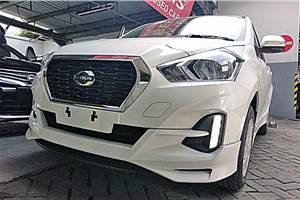 2018 Datsun Go facelift with CVT spied
