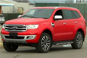 Ford Endeavour facelift India launch in early 2019