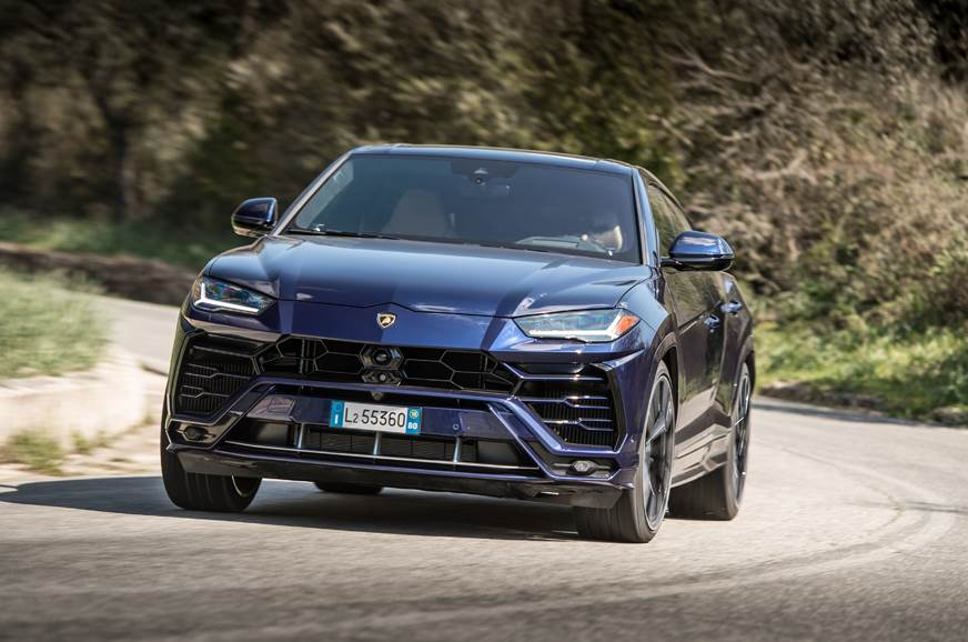 The Urus is Lamborghini's second SUV - the first was the ...