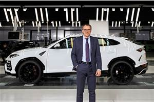 Urus a new dimension for legendary brand says Lamborghini chairman