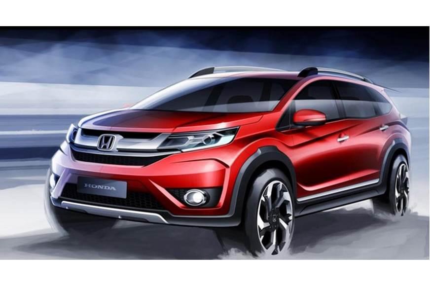 Sketch of the current Honda BR-V for representative purpo...