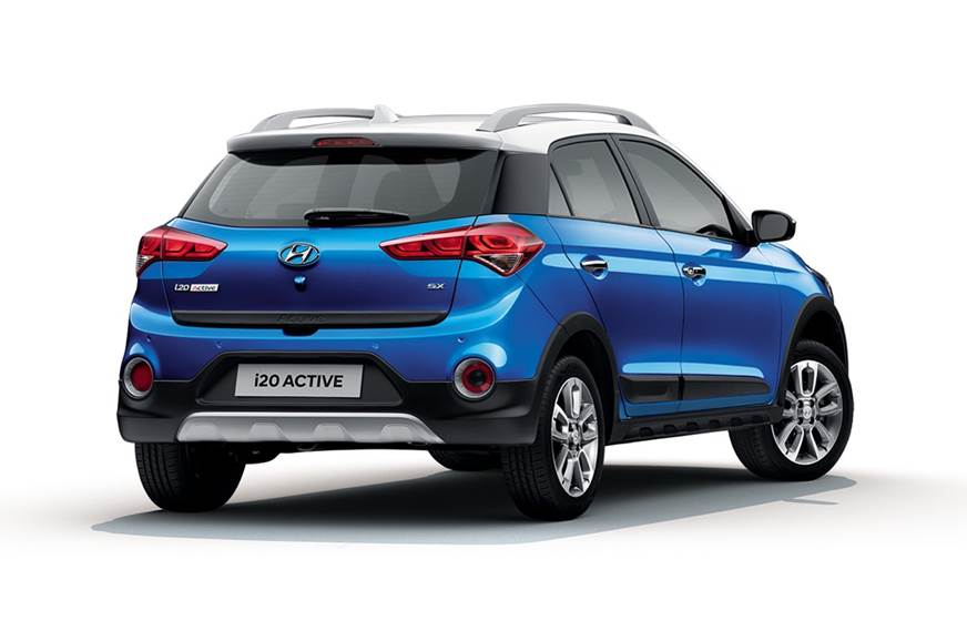 hyundai i20 active facelift cross hatch launched at rs 6. Black Bedroom Furniture Sets. Home Design Ideas