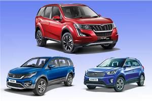 2018 Mahindra XUV500 vs rivals: Specifications comparison
