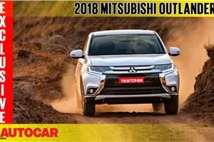 2018 Mitsubishi Outlander video review