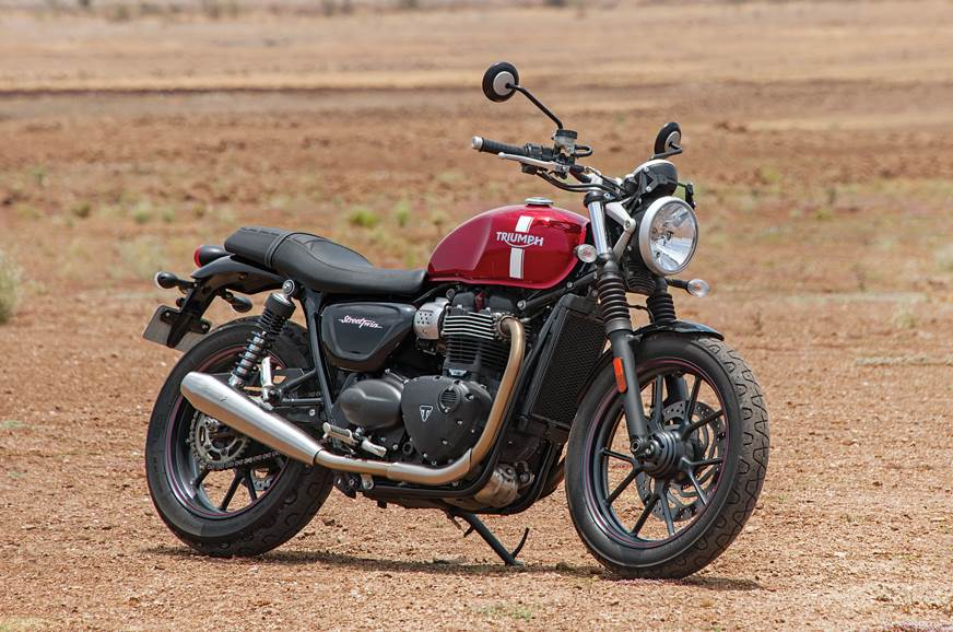 The Street Twin looks like a contemporary bike inspired by old Triumphs.