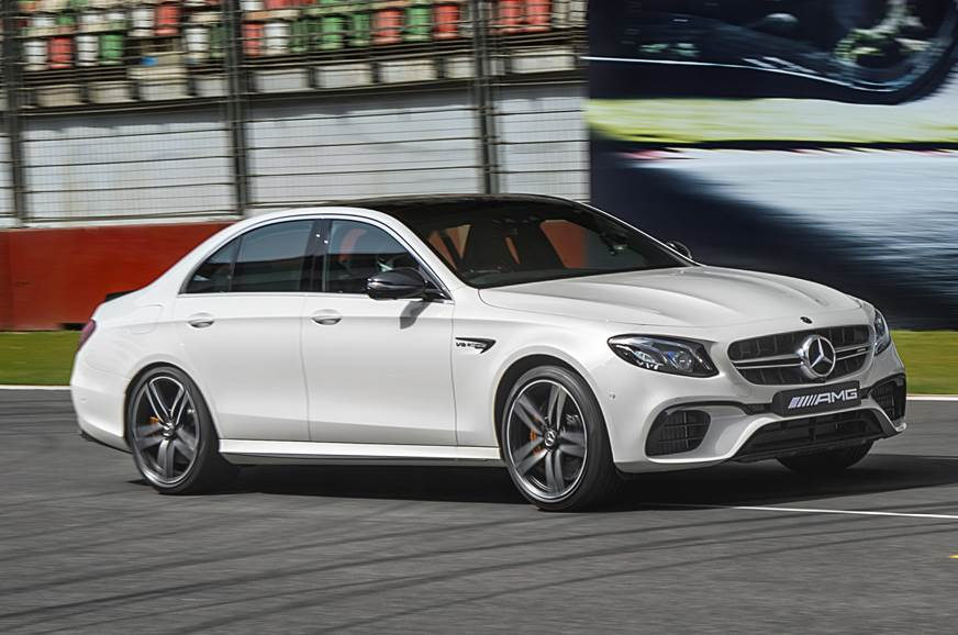 2018 Mercedes-AMG E63 S 4Matic+ review, track drive
