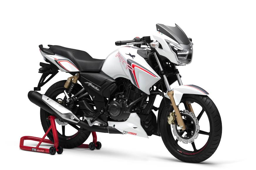 TVS Apache RTR 180 Race Edition launched at Rs 83,233