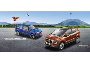 Ford EcoSport Titanium S launch on May 14, 2018